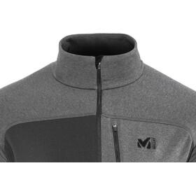 Millet Technostretch Bluzka z długim rękawem Mężczyźni, noir/heather tarmac